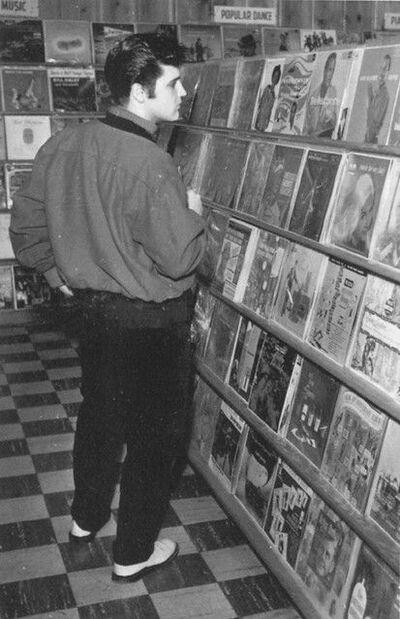 Evolution du support physique - Le disque Vinyle