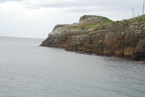 Côte à falaises