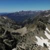 Du sommet du pico de Lavaza Oriental, la sierra de la Partacua et Collarada