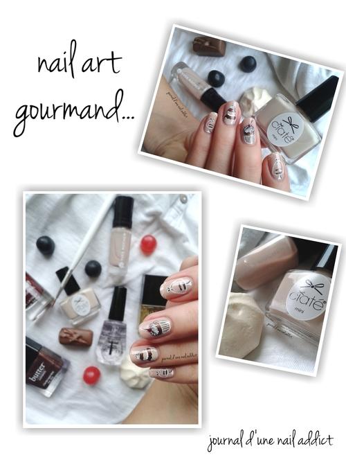 nail art gourmand