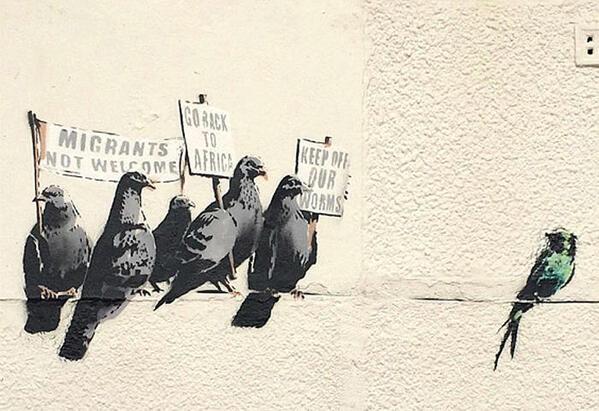 Histoire d'une œuvre de Banksy détruite par erreur