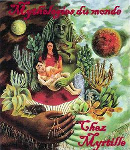 """Challenge """"Mythologies du monde """" proposé par Myrtille"""