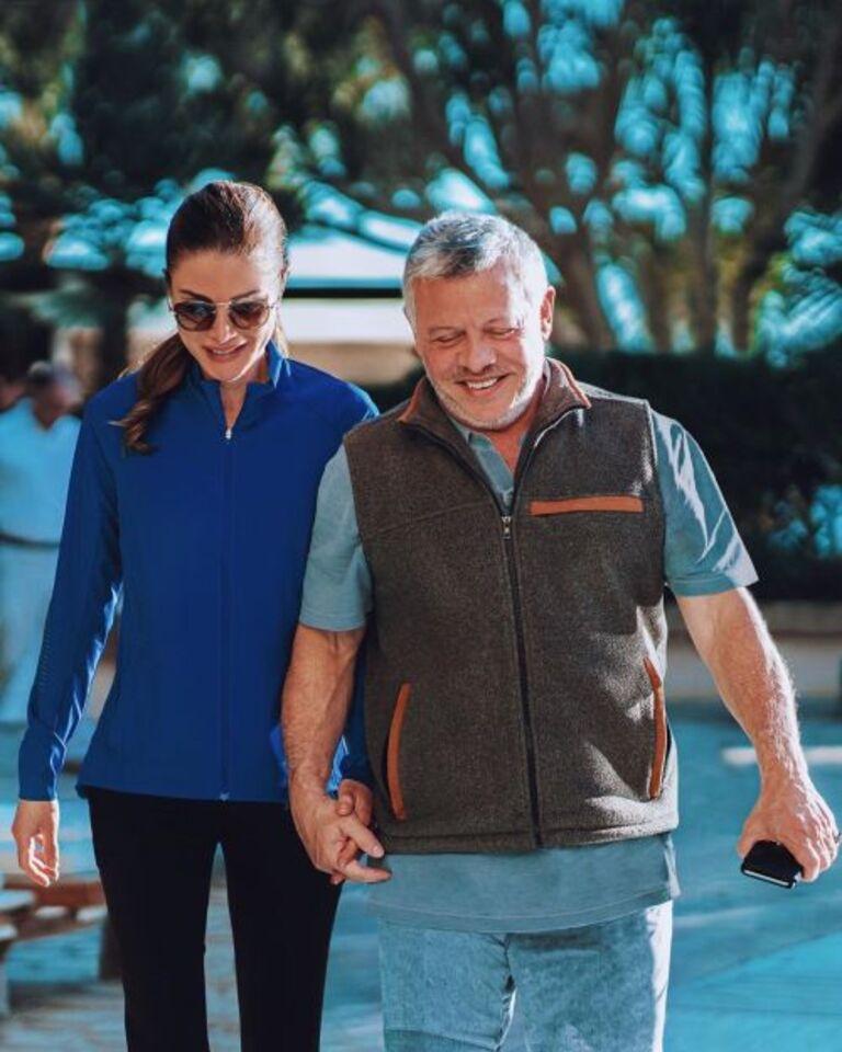 27 ans de mariage pour le couple royal de Jordanie
