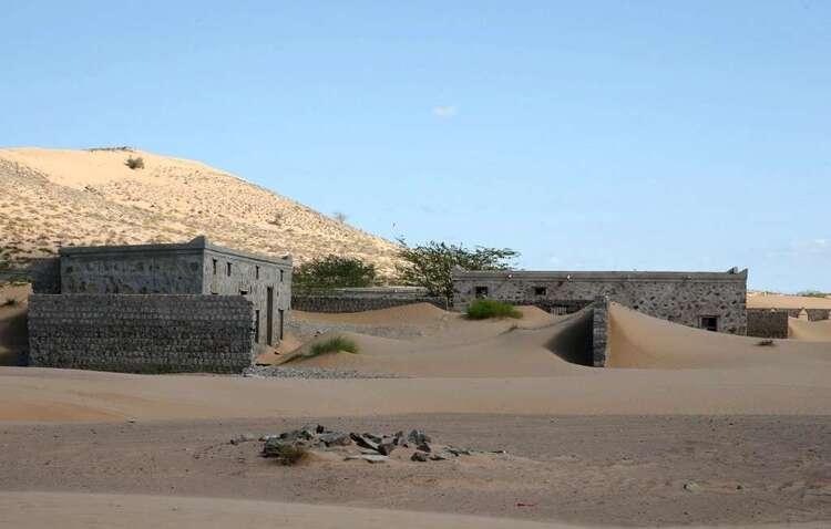 Des Omanais redécouvrent un village englouti par le désert