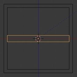 Dupliquer le cube puis écraser sa taille sur l'axe Z