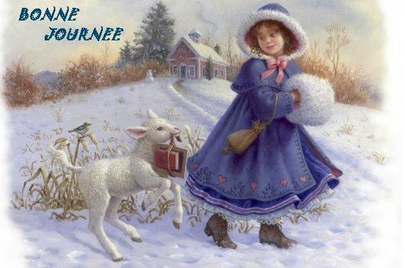 """Résultat de recherche d'images pour """"bon mercredi sous la neige"""""""