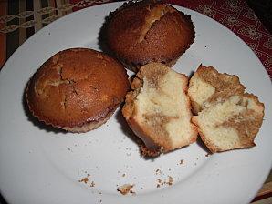 Muffins marbré au café