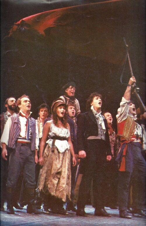 Les Miserables - Londres - Souvenir Brochure -  1986