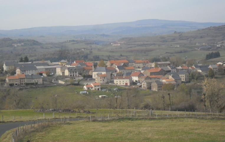 Vue panoramique de Rézentières.