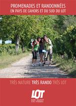 Promenades et Randonnées - En pays de Cahors et du sud du Lot