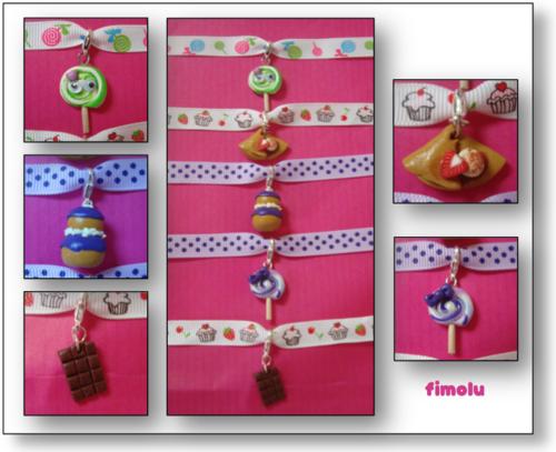 création 2013-14: des petits bracelets...