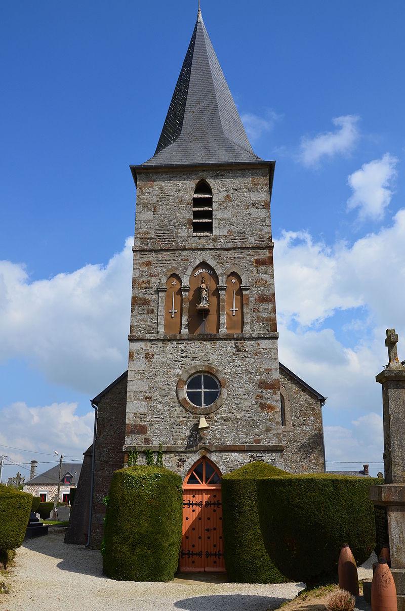 Chênedollé - Clocher Eglise Saint-Georges (2).JPG