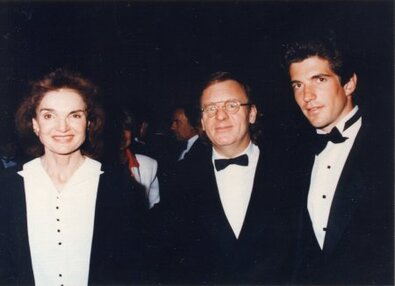Jackie Kennedy, Colm Wilkinson, John F. Kennedy Junior