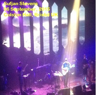 Braderie de Printemps - Jour 12 : Sufjan Stevens - Colston Hall Bristol - 6 Septembre 2015