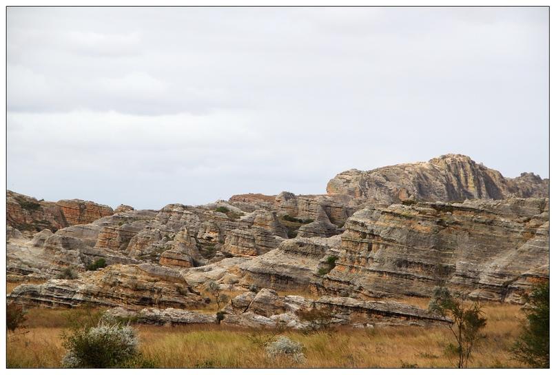 Madagascar massifs de l'Isalo fin