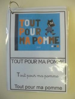 """Sac à album """"Tout pour ma pomme"""""""