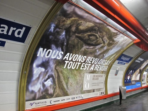 Orsay affiche oeil 0