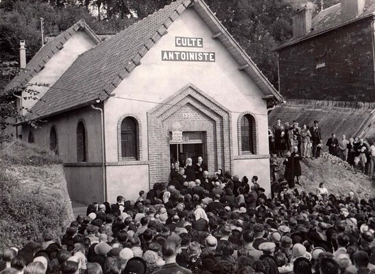 Bernay - Culte Antoiniste - Consécration le 16 septembre 1951