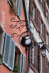 Enseigne Colmar Petite Venise Haut-Rhin Alsace