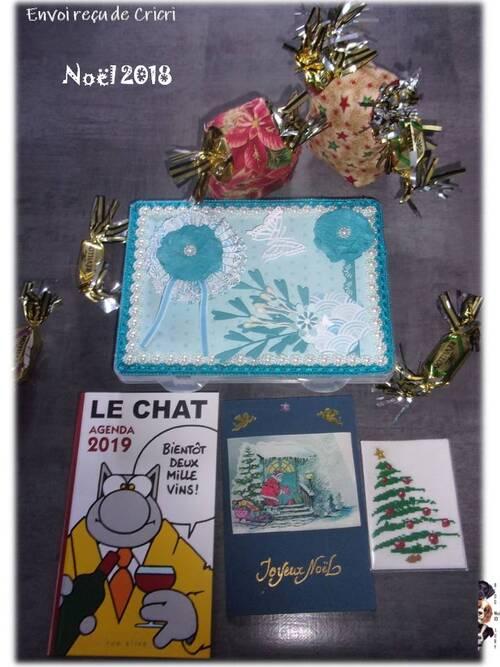 "ATC ""Noël"" + petits kdos"