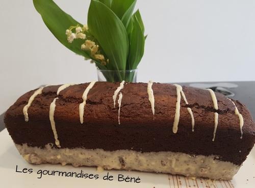 Cake au 2 chocolats