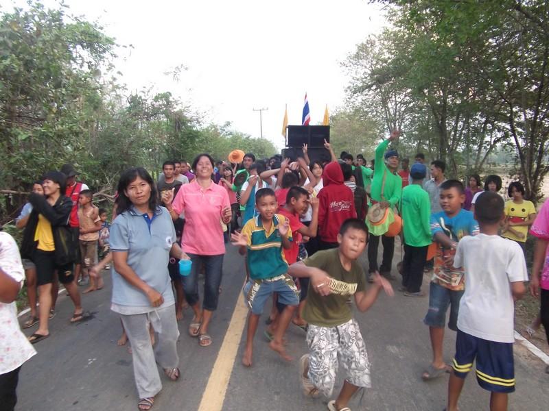 Joyeux Noël au monde entier, de l'Isan, nord-est de la Thaïlande !