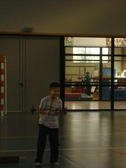 Ateliers cirque dans le cadre de l'EPS