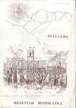 —- Bulletin Municipal à Saillans : décembre 1987 —-