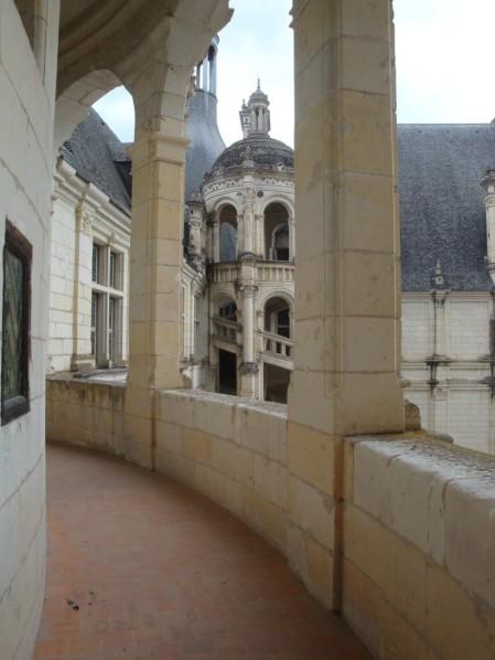 Chambord, le premier étage