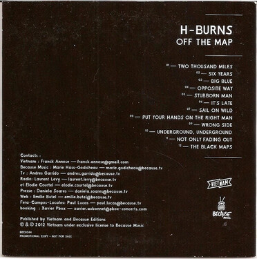 Frenchy but Chic # 73 : H-Burns - Off The Map (2013)
