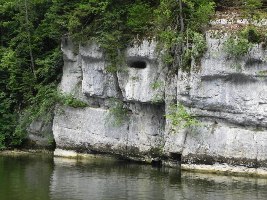 La ballade en bateau pour aller aux Sauts du Doubs