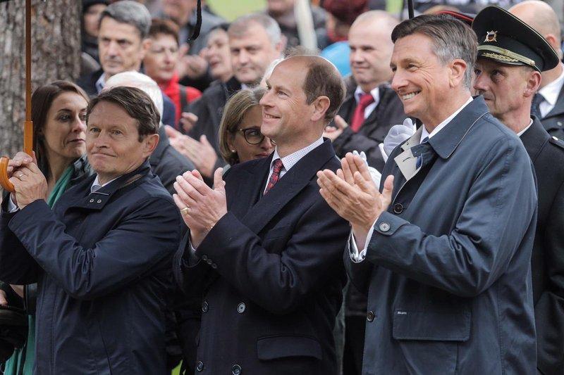 Royal visit Slovenia