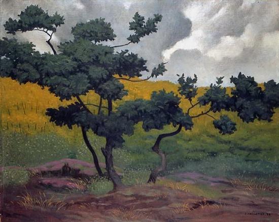 Felix Valloton, Paysage