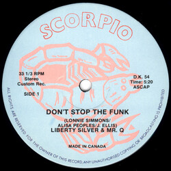 Liberty Silver & Mr Q. - Don't Stop The Funk