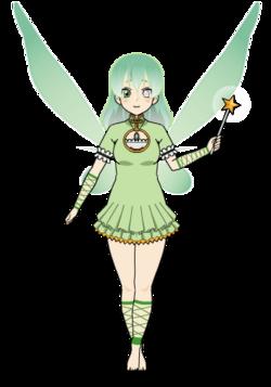 Fée verte