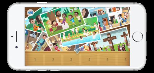 La Bible App pour les Enfants - mise à jour