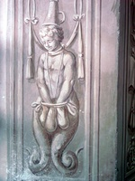 Säulenheiliger im Ratssaal
