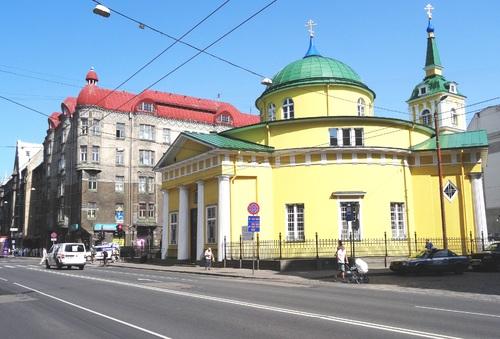 Riga: autour de l'église zainte Zertrude (photos)