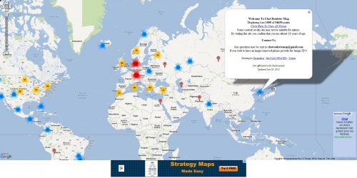 Chatroulette Map