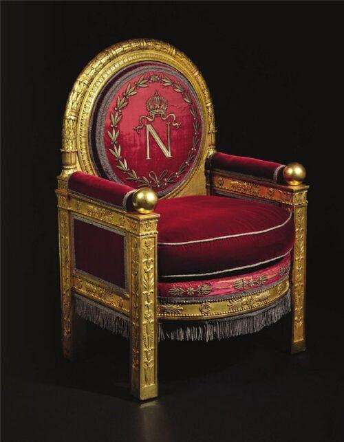 Vente du trône de Napoléon