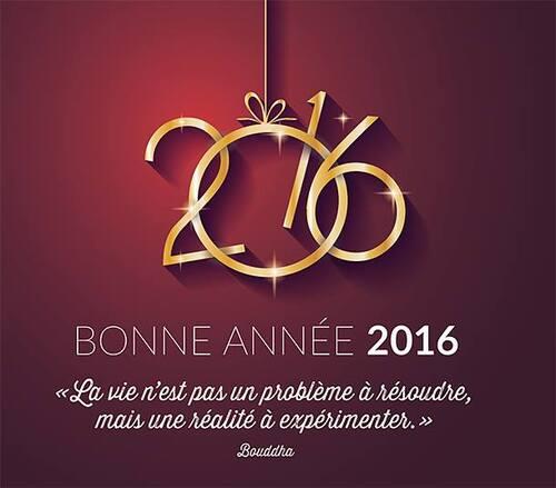 Mes voeux pour 2016