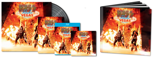 Kiss Live Vegas DVD-CD