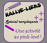 Rallye-lien n°5 : Une activité au pied-levé pour des remplaçants