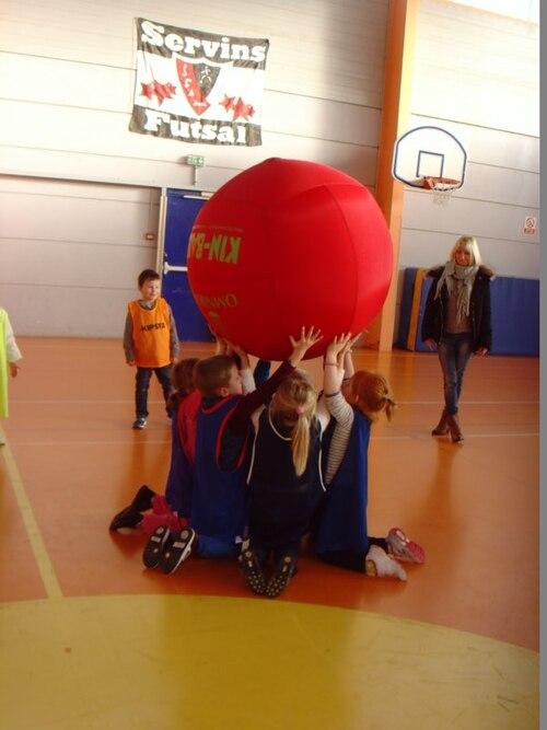 Kin-Ball - séance 4