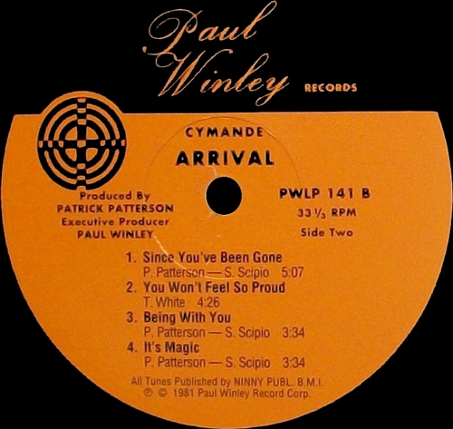 "1981 : Album "" Arrival "" Paul Winley Records ‎LP 141 [ US ]"