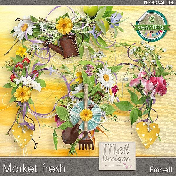 Market fresh - Embellishments