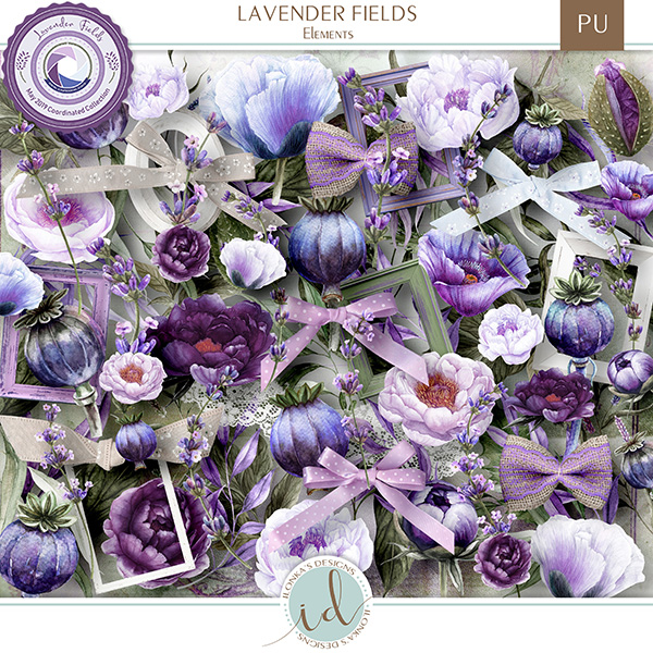Lavender Fields - release May 10th 2019 at Digital Scrapbooking Studio Id_lav11