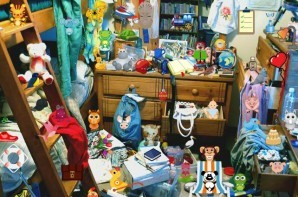 Messy room - Hidden objects