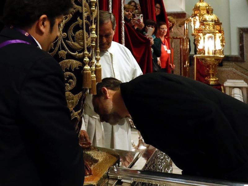 """Besapié a la imagen de Nuestro Padre Jesús Nazareno, """"Cristo de Medinaceli"""""""