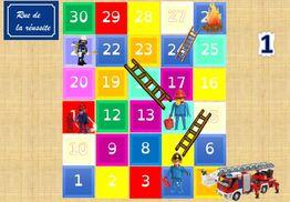 Le jeu des pompiers et le carré de 100